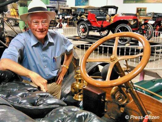 Dean Oakes, Antique Car Museum of Iowa